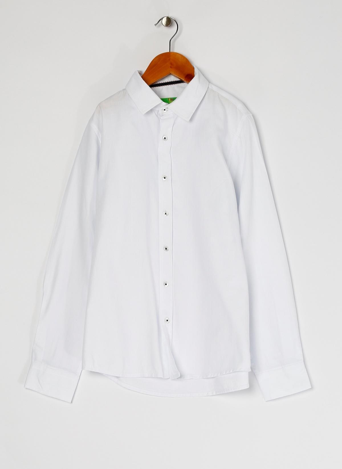 Limon Company Erkek Çocuk Gömlek Beyaz 11-12YAS Beden